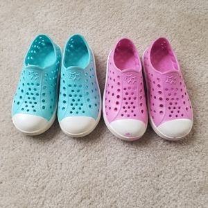 Other - Bundle of 2 girls faux sneakers